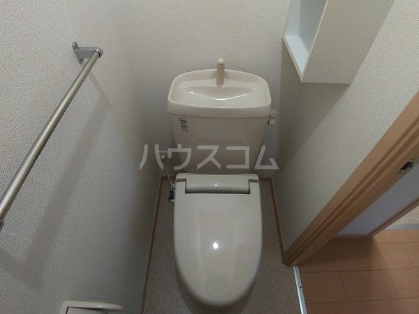 パートリア 竹之内 101号室のトイレ