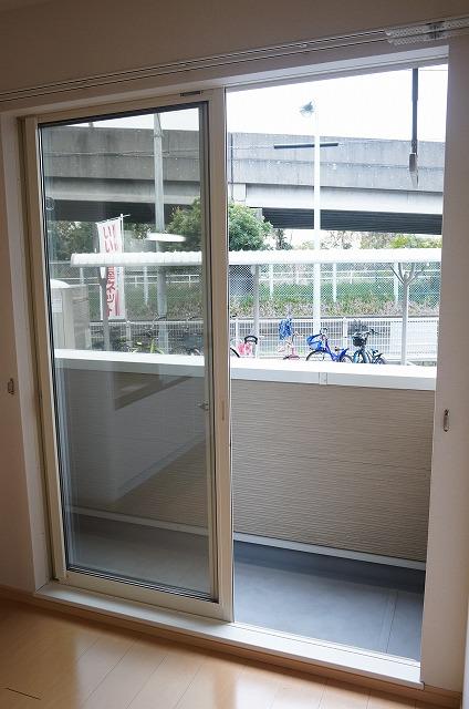 フーガ宮司浜 A 02030号室のバルコニー