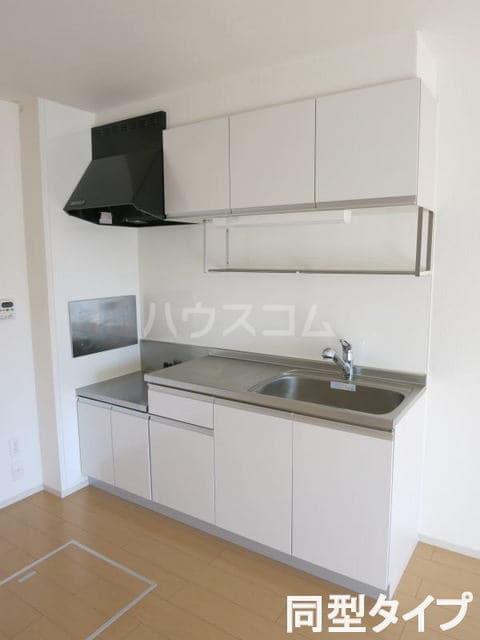 コルソプレッソⅡ 105号室のキッチン