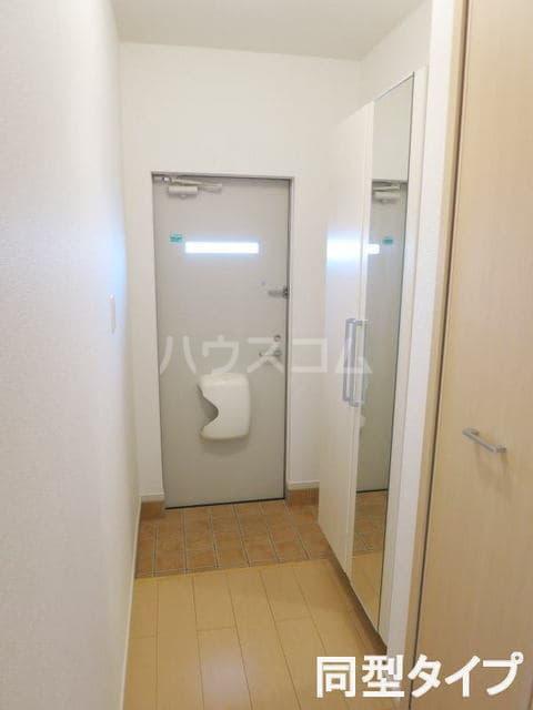コルソプレッソⅡ 105号室の玄関