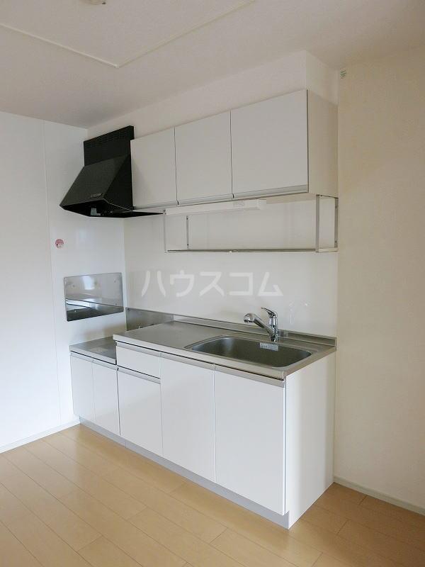 カモミール 201号室のキッチン