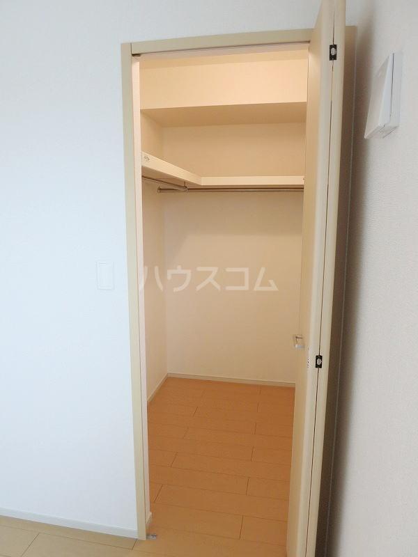 カモミール 201号室の収納