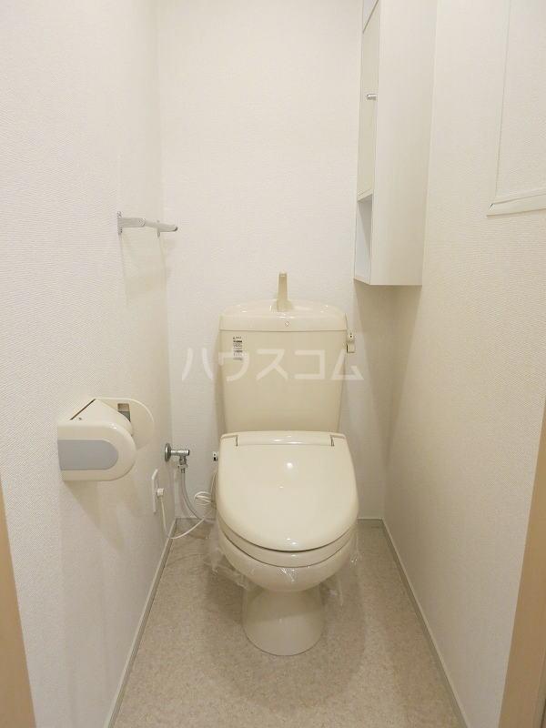 カモミール 201号室のトイレ
