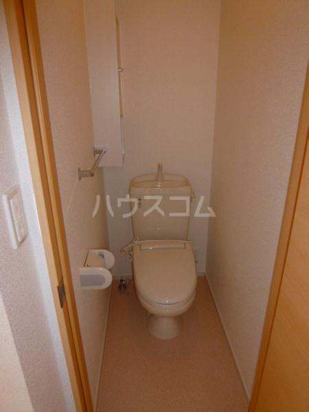 アンソレイエ A 105号室のトイレ