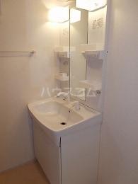 ティール Ⅱ 02020号室の洗面所