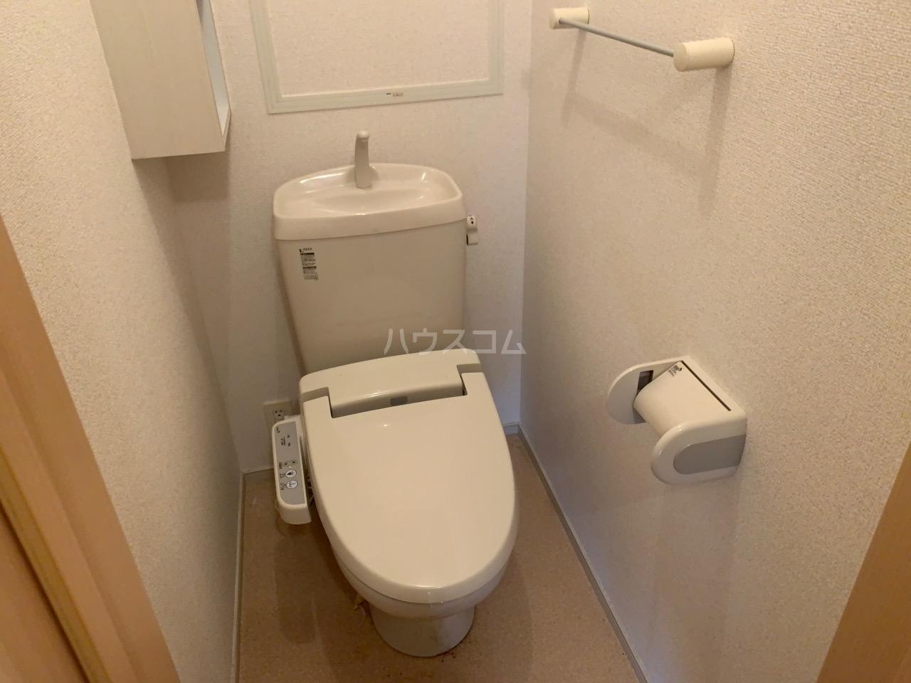 ミルレーヴⅢ 203号室のトイレ