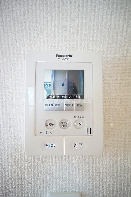 リュミエールレーヴE 01010号室のセキュリティ