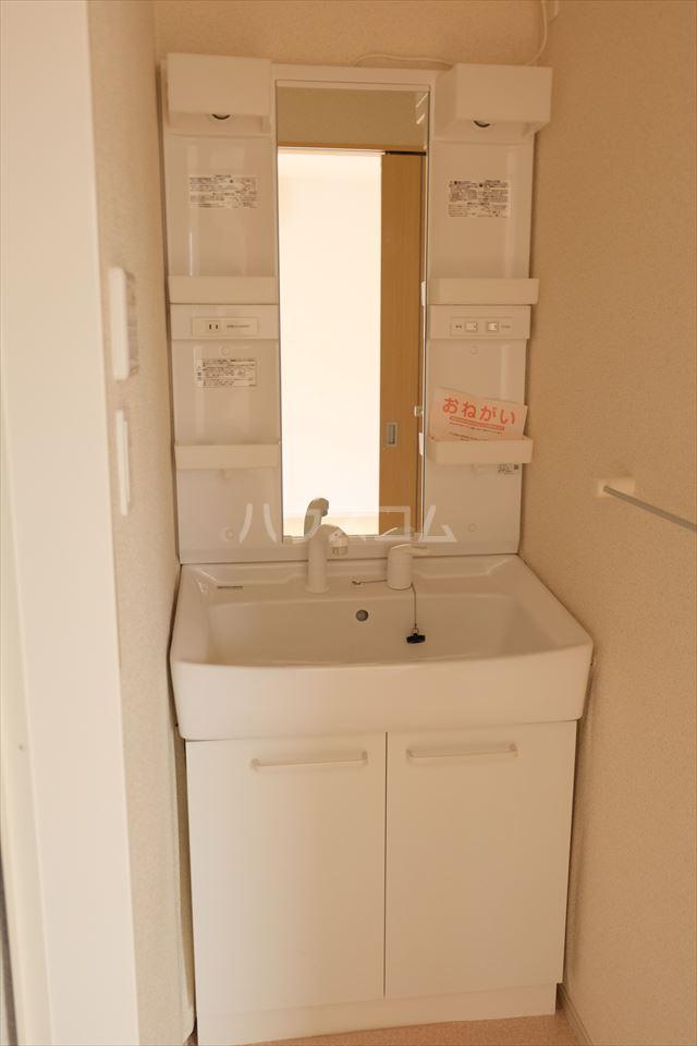 カレント 01020号室の洗面所