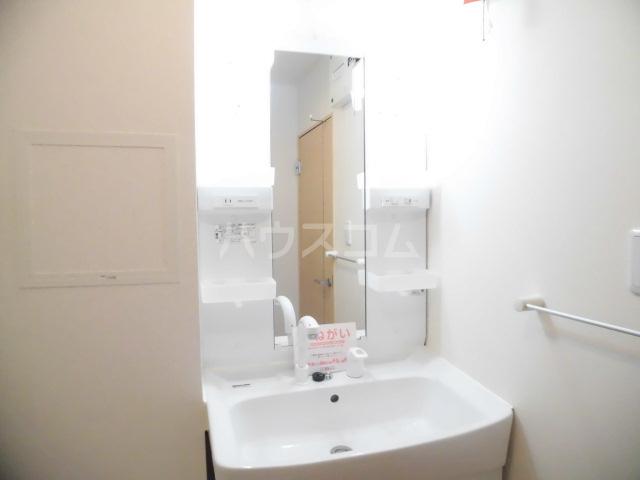 ブランドールⅡ 02020号室の洗面所