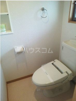 ハーベストウムサ 204号室のトイレ