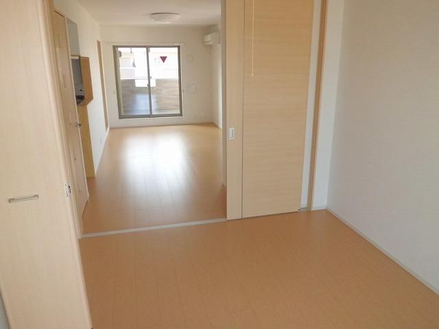 ファインヒル 303号室のベッドルーム