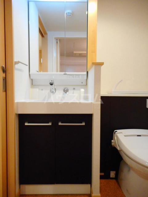 オークヴィラ 302号室の洗面所