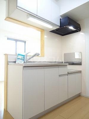 カーサ モデルノA 03010号室のキッチン