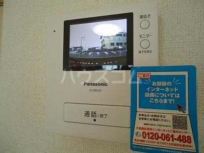 カーサ モデルノA 03010号室のセキュリティ