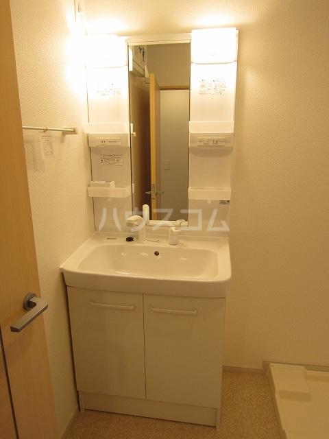 フォレストKM Ⅵ 202号室の洗面所