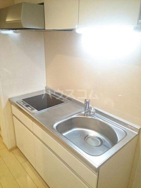 トレス中田 402号室のキッチン