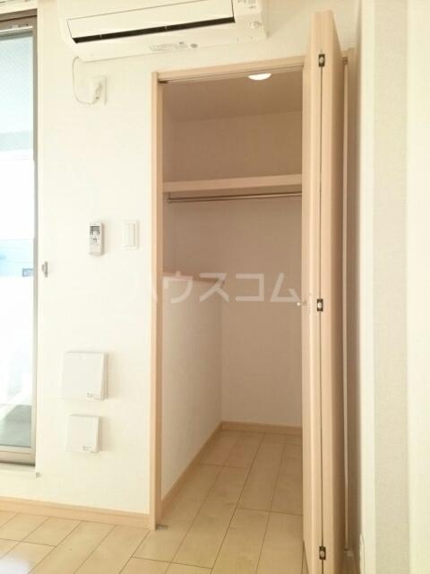 トレス中田 402号室の収納