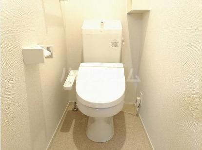 ソレアード・S 103号室のトイレ
