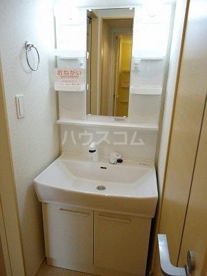 エルシアⅠ 01020号室の洗面所