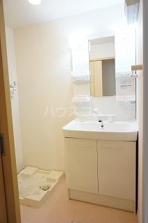 ラ・ルーチェⅡ 01020号室の洗面所