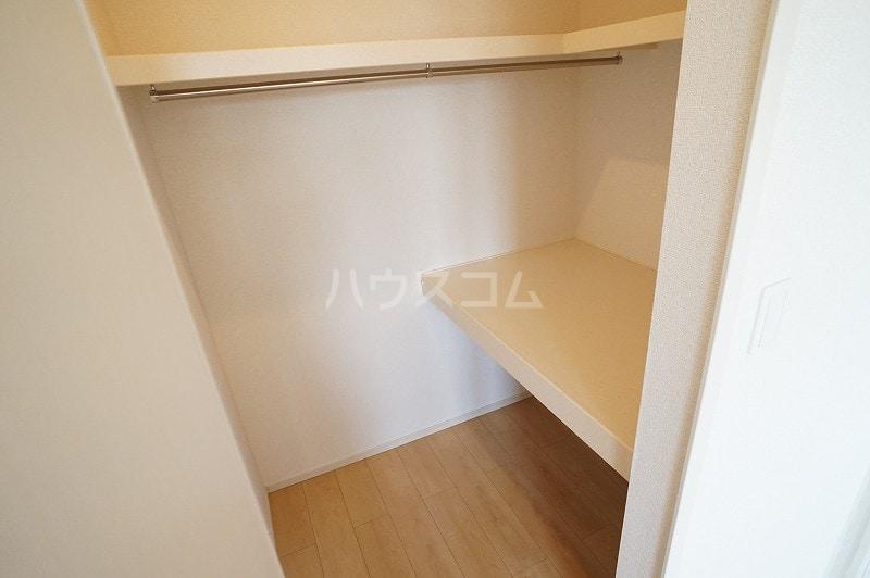 パティオB 02020号室の収納