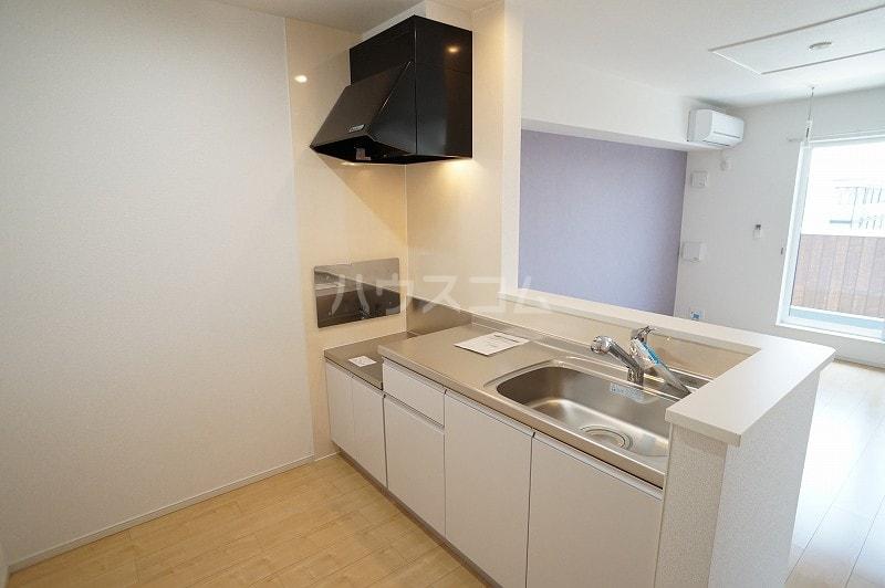 パティオB 02020号室のキッチン