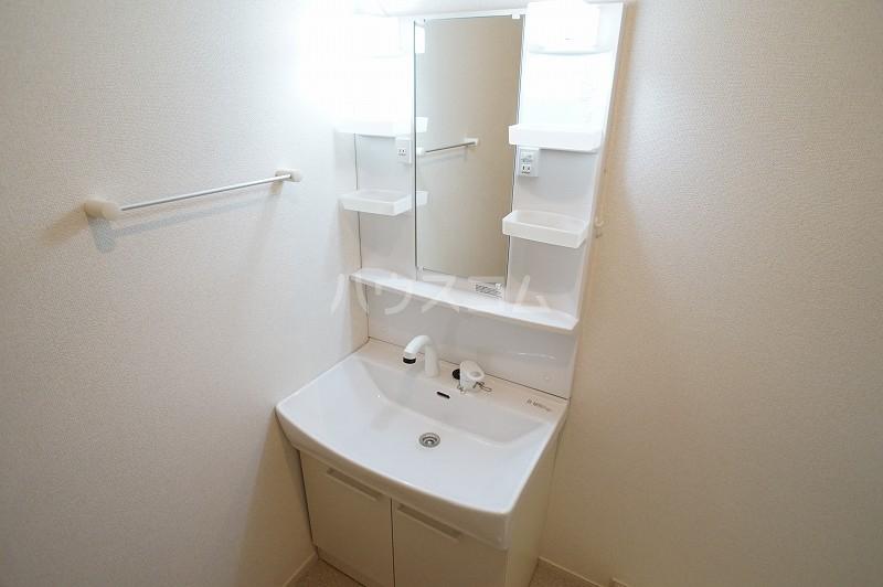 パティオB 02020号室の洗面所