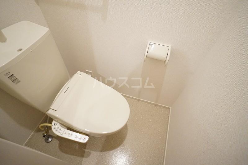 パティオB 02020号室のトイレ