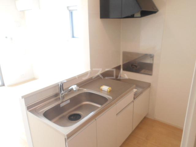グランペⅡ 02050号室のキッチン