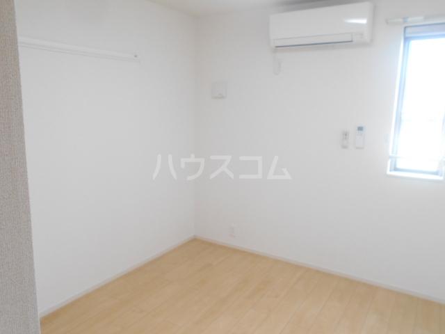 グランペⅡ 02050号室のベッドルーム