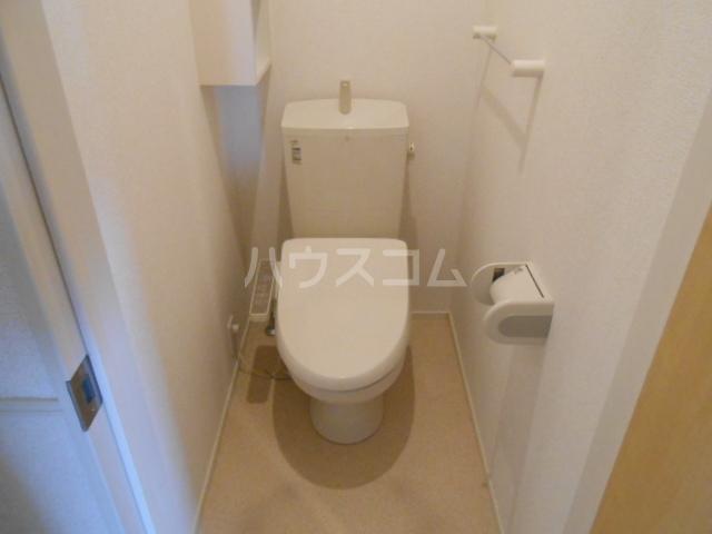 CAROLINE Ⅲ 201号室のトイレ