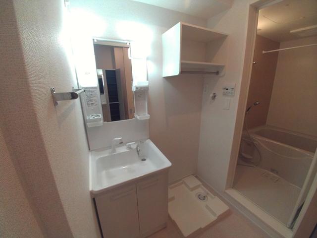 ブルースター 101号室の洗面所