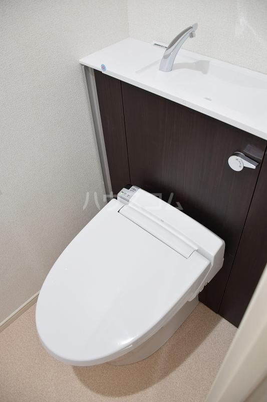 メゾンドZen 402号室のトイレ
