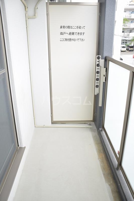 メゾンドZen 402号室のバルコニー