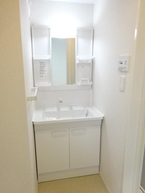 プレ ウィステリアⅡ 101号室の洗面所