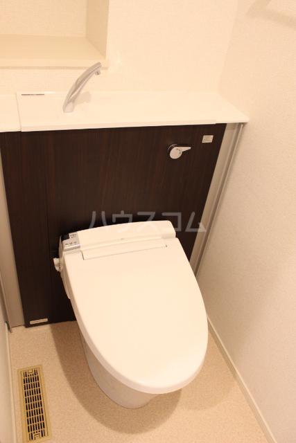 ミニヨン アビタシオン久米 505号室のトイレ