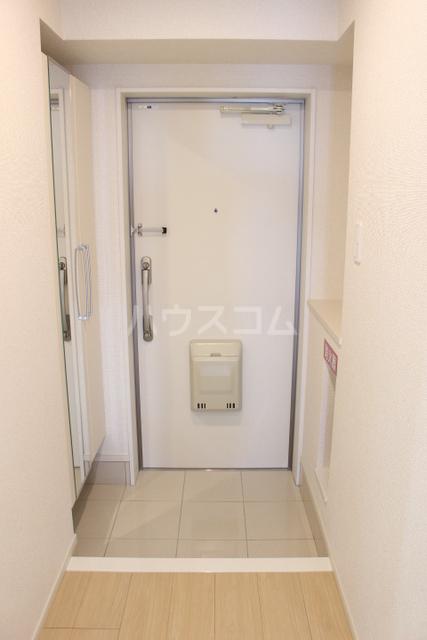 ミニヨン アビタシオン久米 505号室の玄関