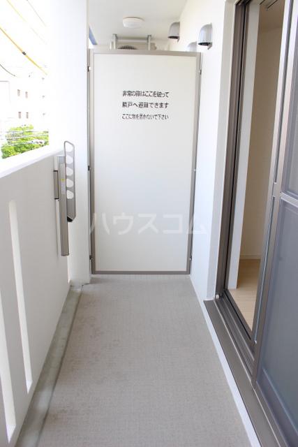 ミニヨン アビタシオン久米 505号室のバルコニー