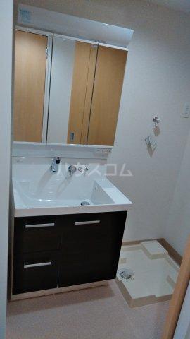 フレンドリーテラスN 207号室の洗面所
