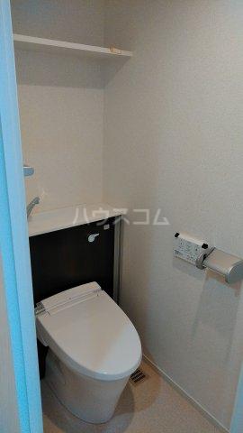 フレンドリーテラスN 207号室のトイレ