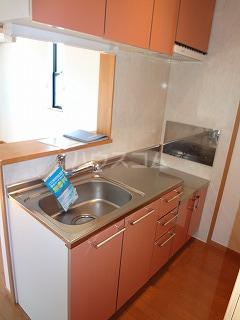 ドルチェⅠ 206号室のキッチン