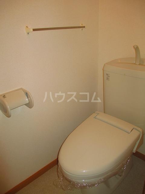 ドルチェⅠ 206号室のトイレ