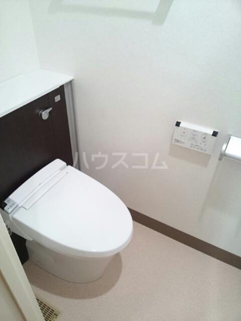 パウリスタマンション駅前 101号室のトイレ