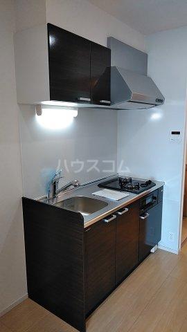 オーシャン レジデンス 202号室のキッチン