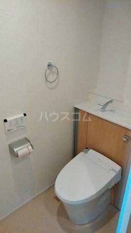 オーシャン レジデンス 202号室のトイレ