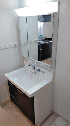 オーシャン レジデンス 202号室の洗面所