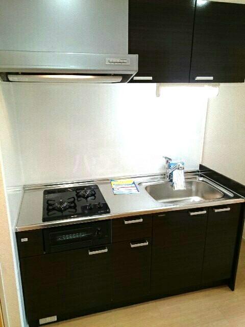 キュービックスター 504号室のキッチン