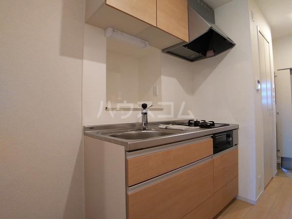 ソレッジャートⅡ 101号室のキッチン