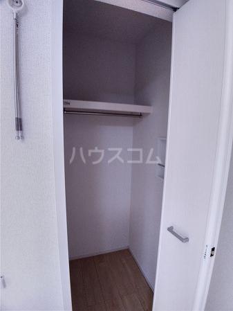 ソレッジャートⅡ 101号室の収納