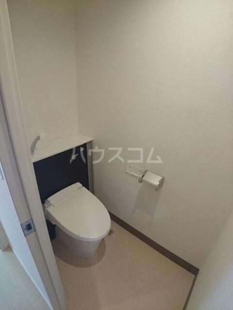 バーバリー・ヒル 103号室のトイレ